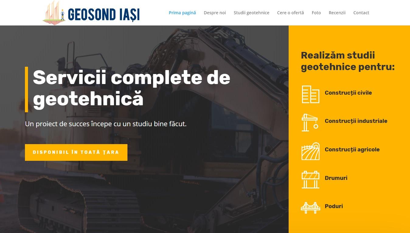 Geosond Iași